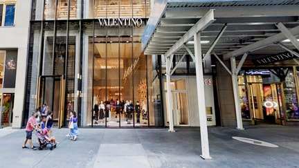 Valentino sued for $207M for pandemic closing of its New York City boutique