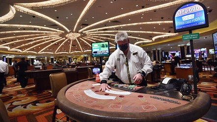 Reeling from $4B loss, Vegas casinos dealt new threat amid COVID-19 return