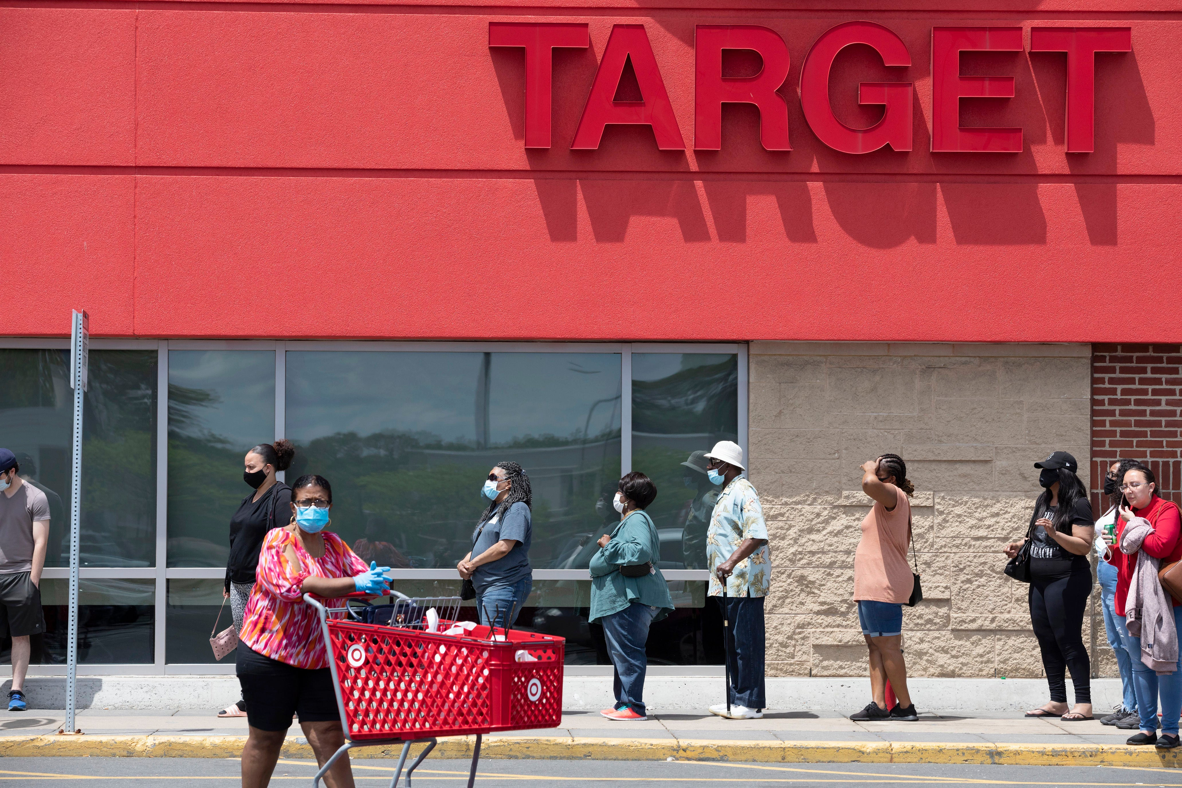 Target Letting Shoppers Reserve Spots In Line As Part Of New Covid 19 Safety Measures Fox Business