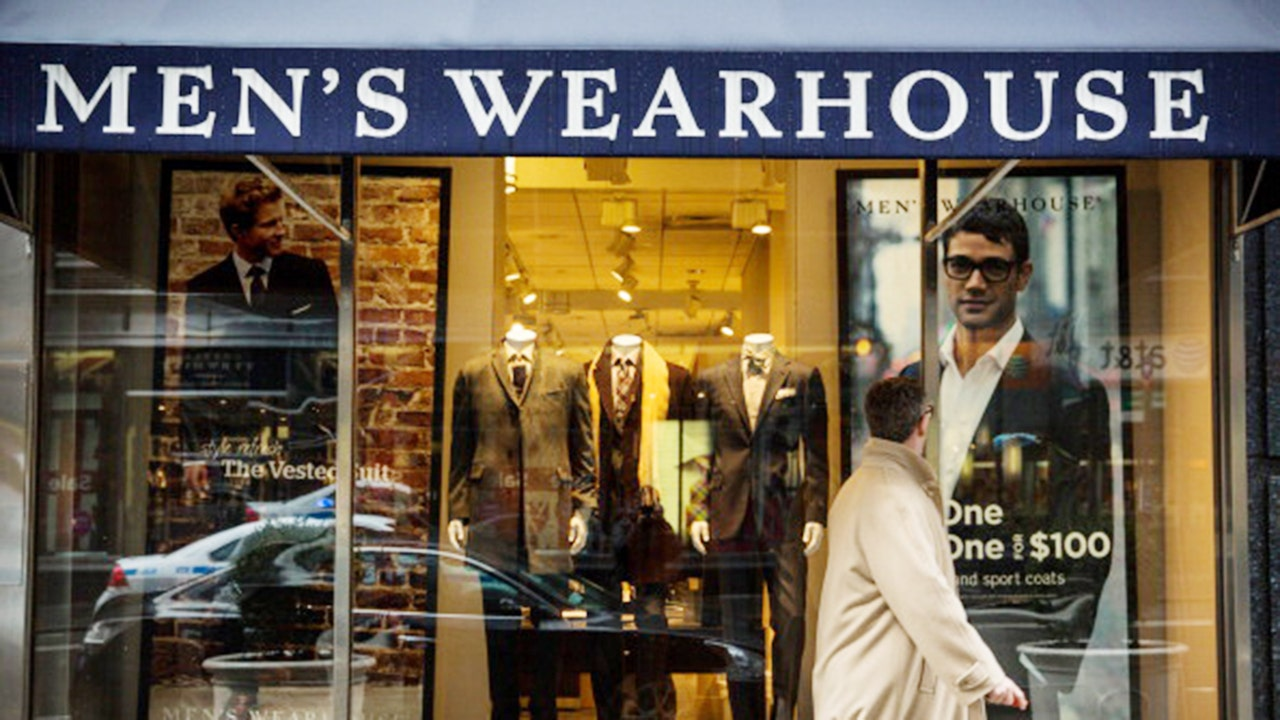 Men`s Wearhouse parent emerges from bankruptcy protection