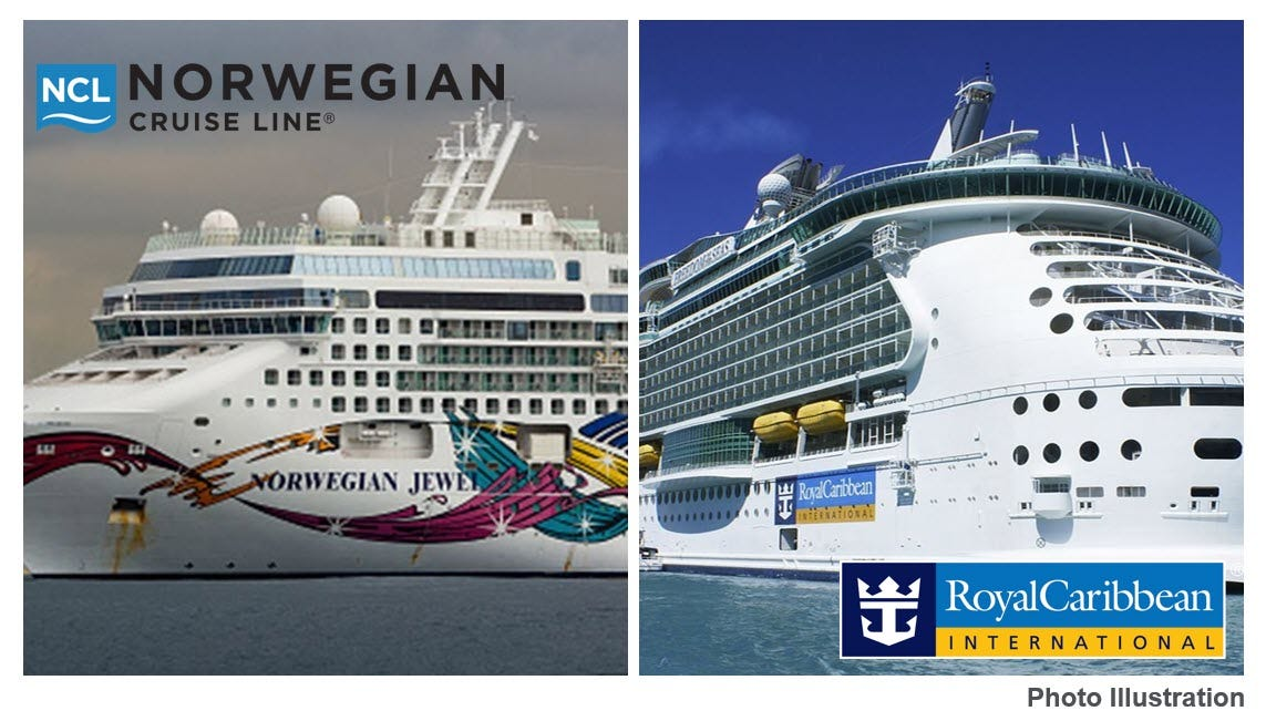 Rivals Royal Caribbean, Norwegian Cruise Line team up to plan restart - Fox Business