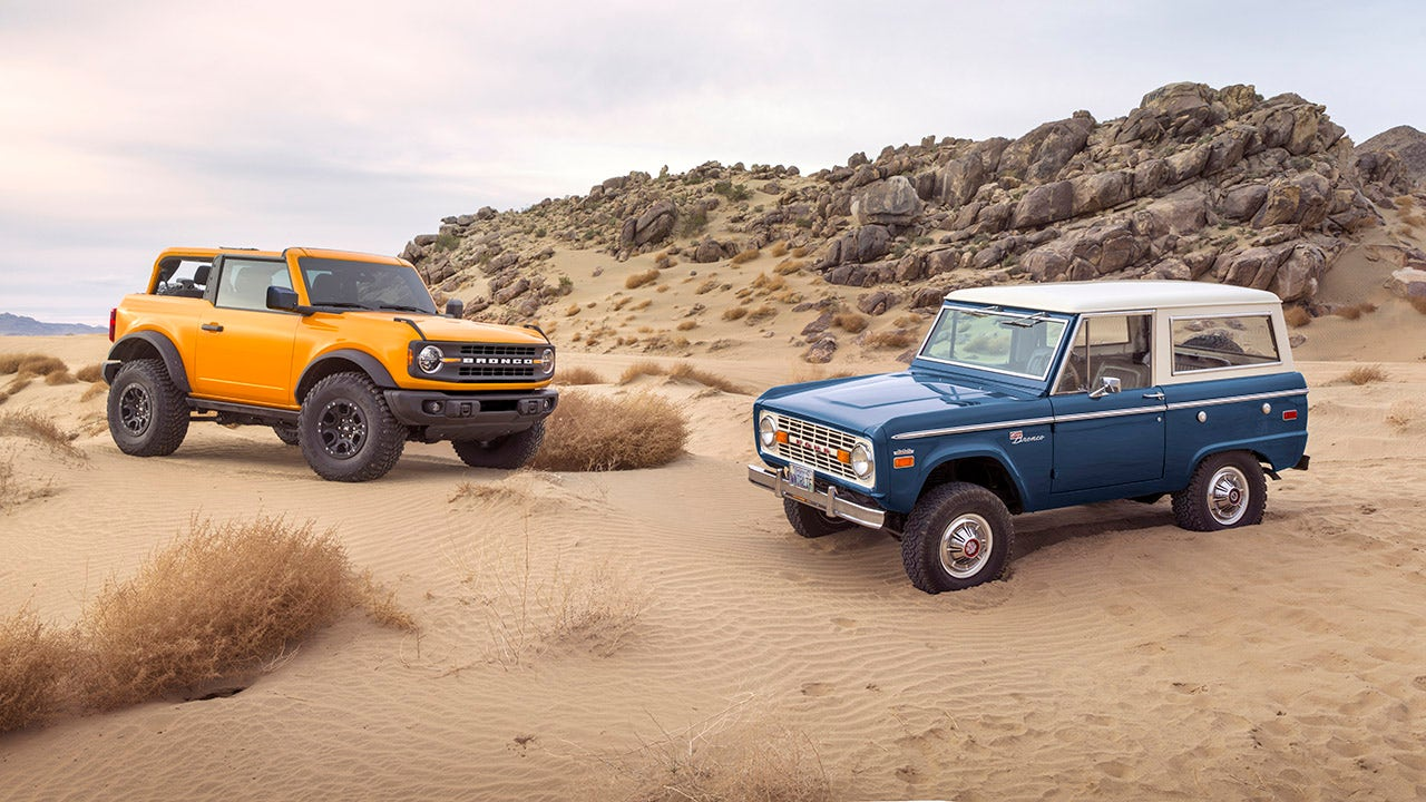 Ford's Bronco, F-150 Lightning behind profit outlook boost