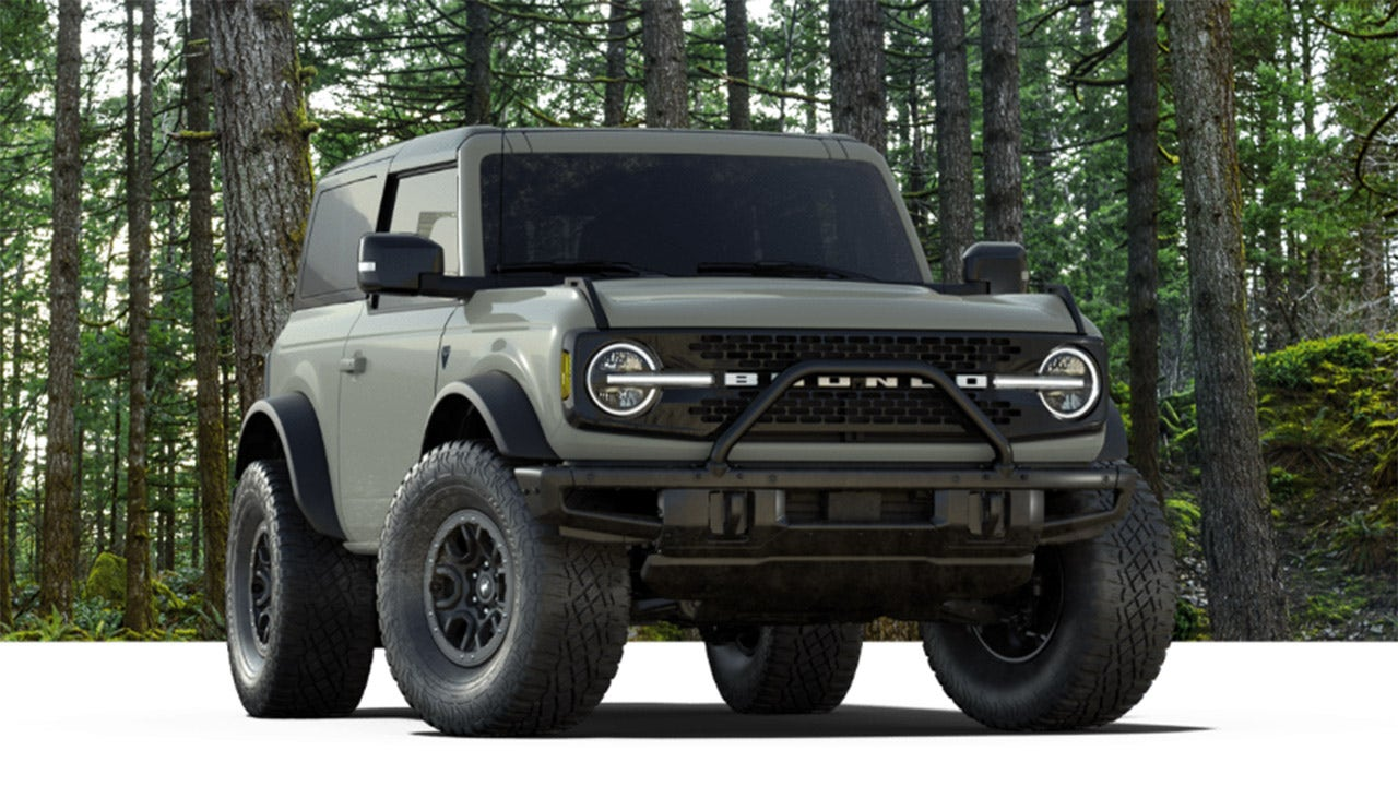 Limited Production Ford Bronco First Edition Already Sold Out