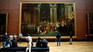 'Mona Lisa' back at work, visitors limited as Louvre reopens