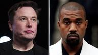 Kanye West, Elon Musk photographed wearing Yeezys together