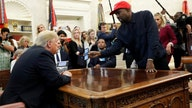 Kanye West 2020 would be great 'trial run,' says Trump