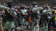 Hong Kong police make arrests under new security law