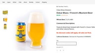 French's releasing Mustard Beer for National Mustard Day