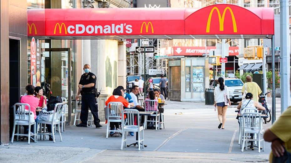 McDonald's will require customers to wear face coverings