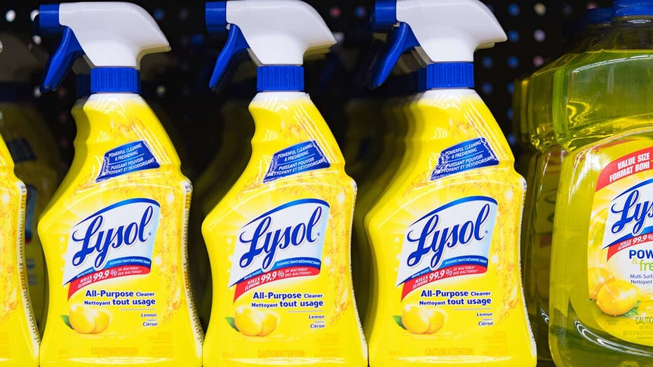 Lysol Disinfectant Spray effective against COVID-19