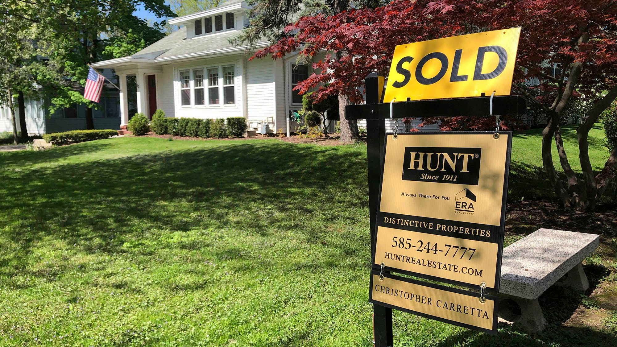 Home prices soar 16.6% annually in May, most on record