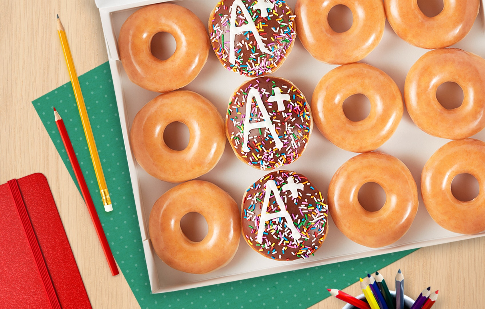 Krispy Kreme offering free coffee, doughnuts for teachers next week - Fox Business