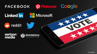 Big tech companies collaborate to protect US election process