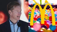 McDonald's hints at upgrading chicken sandwich, doubts more ball pits will be built
