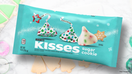 Hershey's releasing Sugar Cookie Kisses this holiday season
