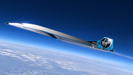 Virgin Galactic unveils Mach 3 supersonic jet