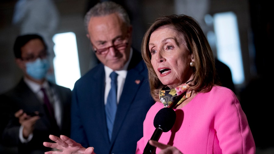 Pelosi says virus relief talkswill resumewhen GOP agrees to $2.2T price tag: 'We're not budging'
