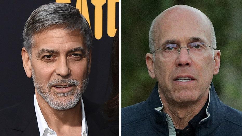 George Clooney, Jeffrey Katzenberg among others to host Biden-Harris fundraiser following DNC: report Clooney-Jeffrey-Katzenberg-AP-REUTERS
