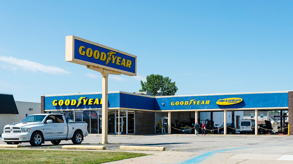 Goodyear distances itself from viral image that drew Trump's ire