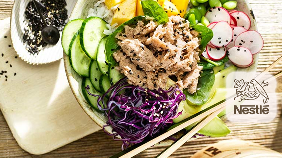 Nestle launches vegan alternative to tuna