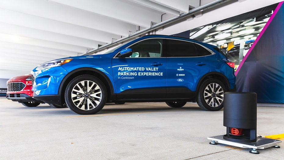 Autonomous Ford Escape Demo Vehicles Can Valet Park Themselves