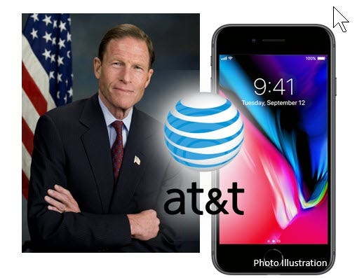 AT&T plan for advertising subsidized cellphones hits Senate obstacle
