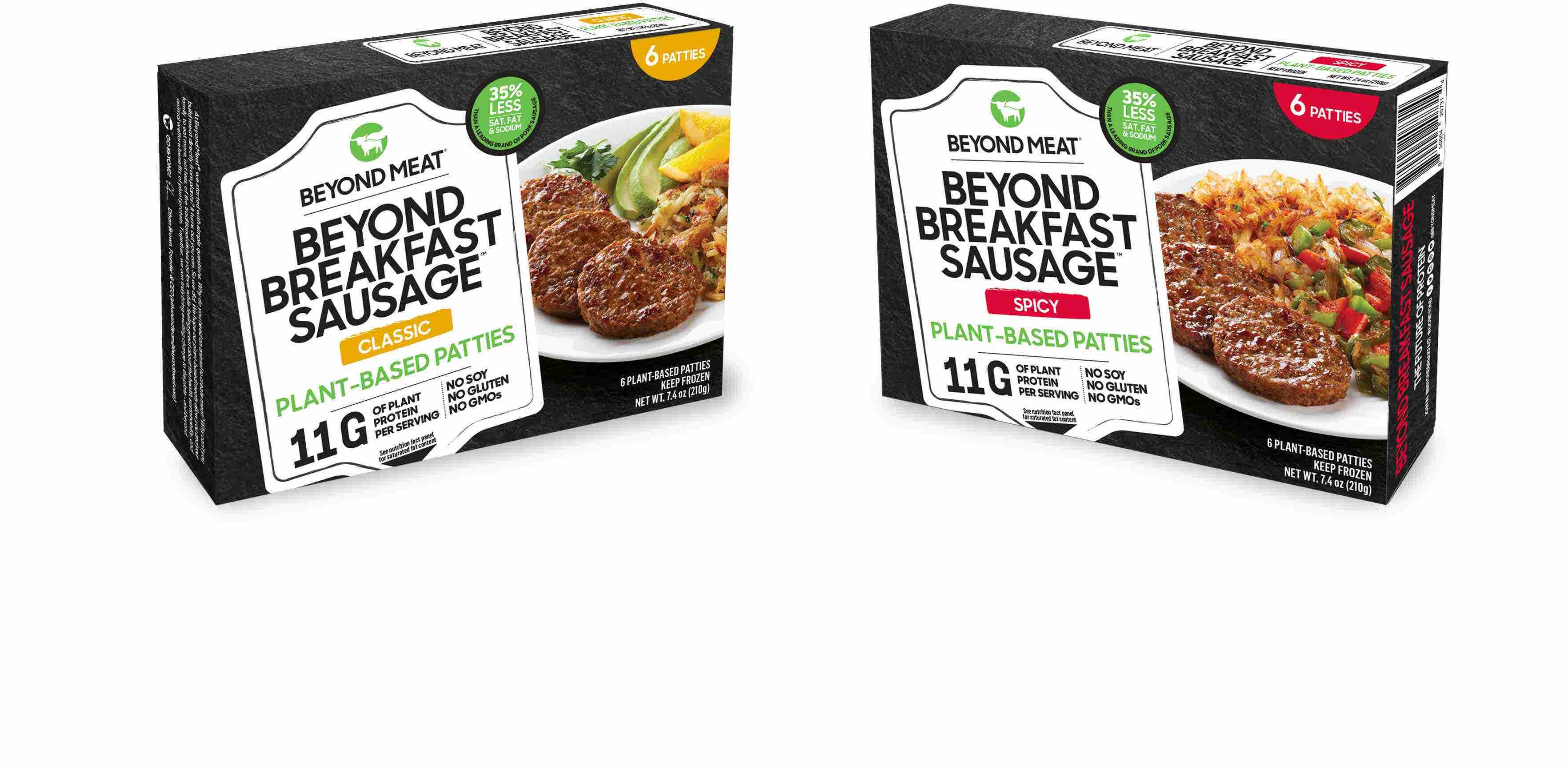 Beyond Meat to capitalize on plant-based popularity, introduce breakfast sausage in 5,000 new locations,