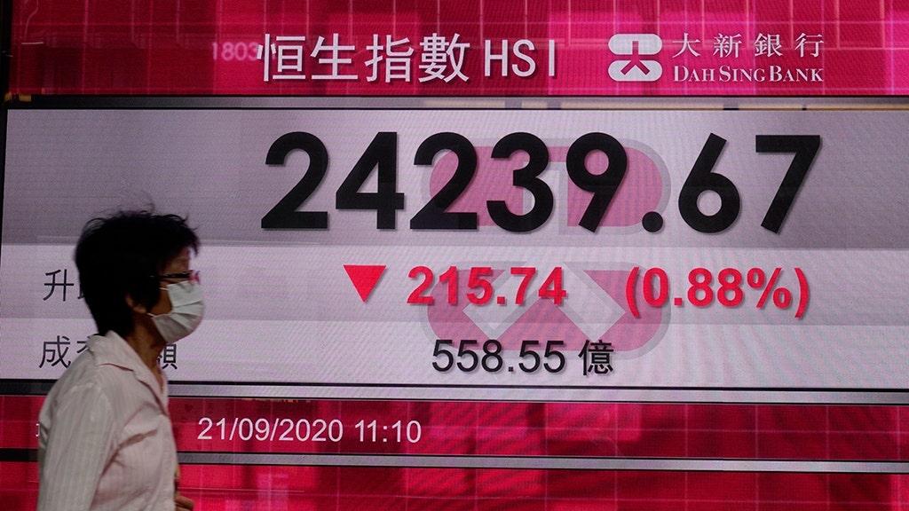 www.foxbusiness.com: Global economic fears, coronavirus resurgence drive Asian shares down