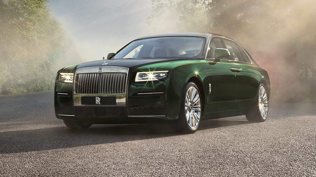 The Rolls Royce Ghost Extended Is A Very Long Luxury Car Fox Business