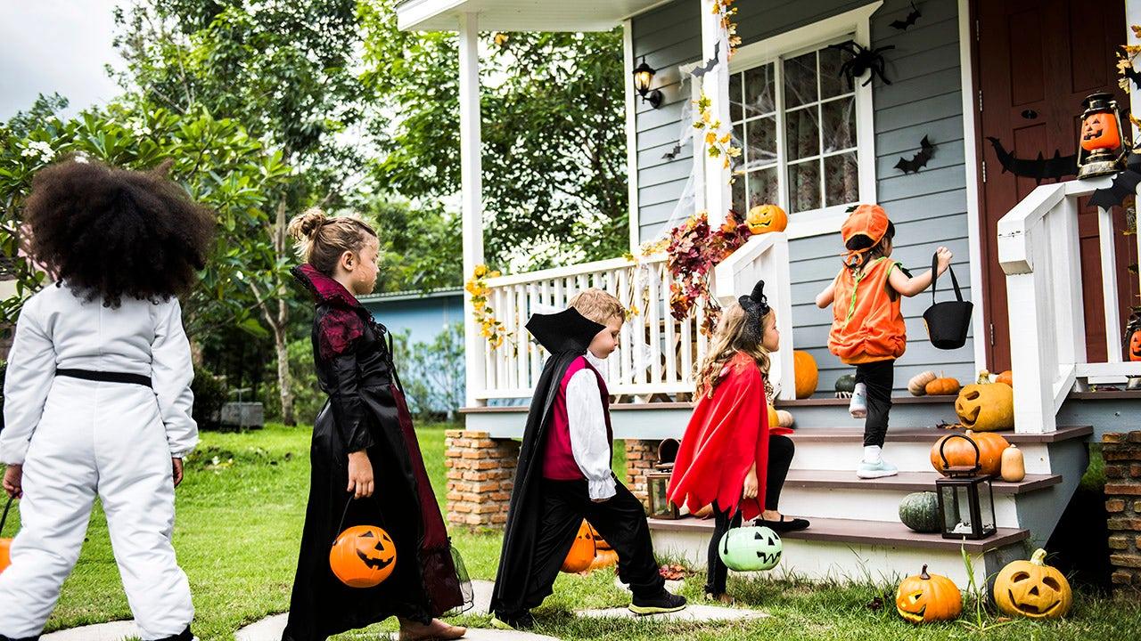 Istock trick or treat halloween