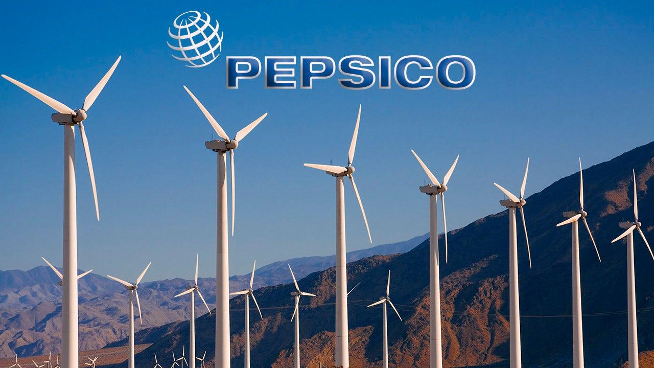 PepsiCo targets 100% renewable energy by 2030