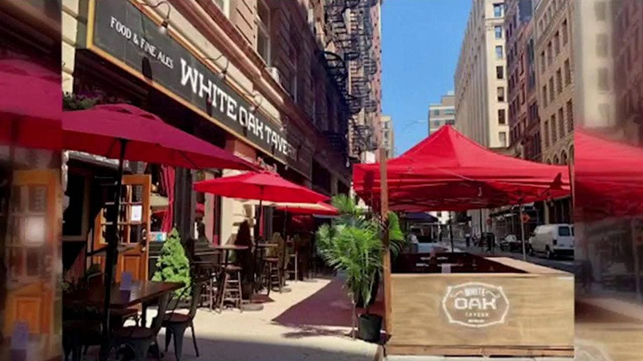NYC restaurants can add 10% 'COVID-19 Recovery Charge' to customers' b... image