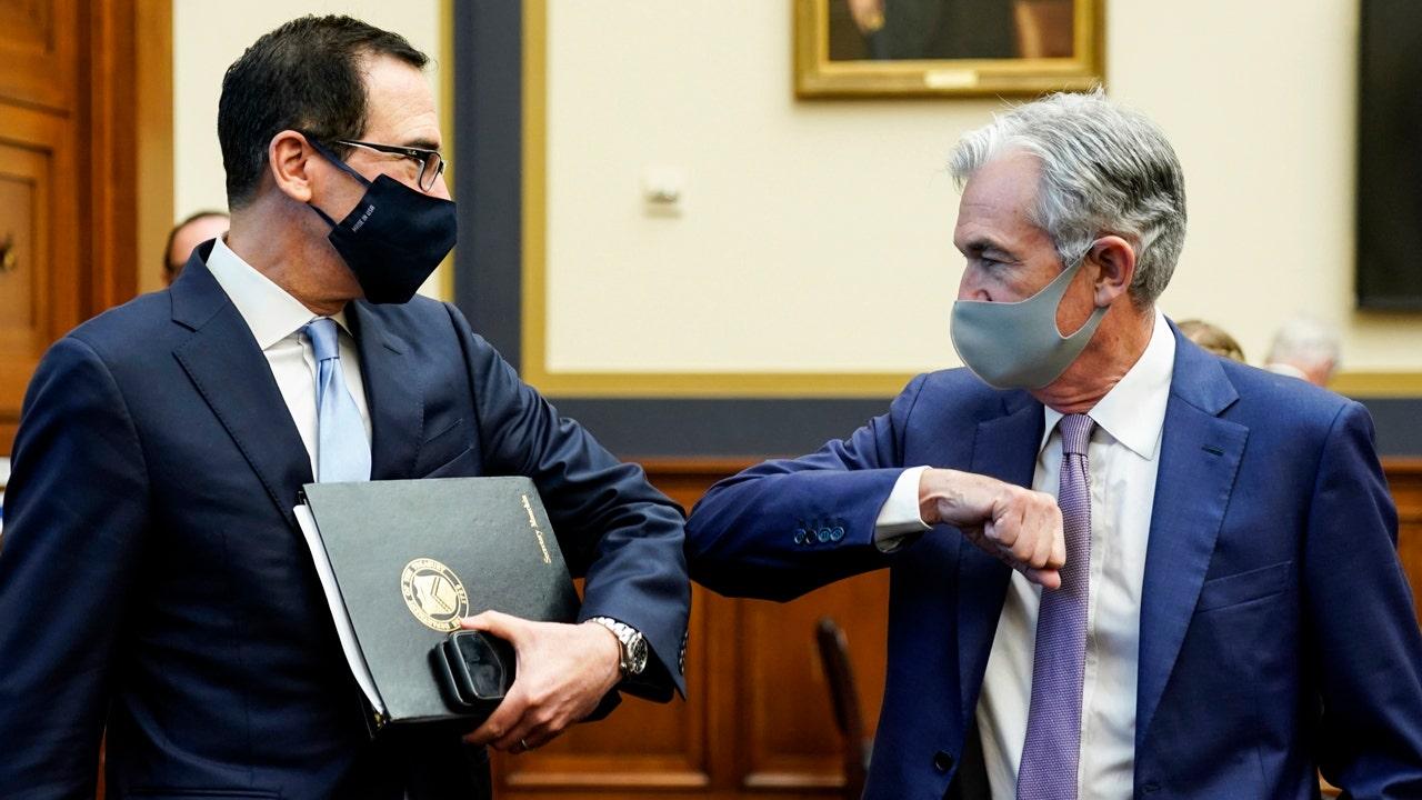 Fed's Powell, Treasury Sec. Mnuchin optimistic, but call for more COVID relief