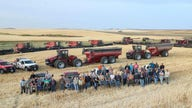 North Dakota farmers harvest 1,000 acres of neighbor's crops after man suffers heart attack