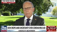 Kudlow claims US is in 'a strong V-shaped recovery' despite Wall Street selloff