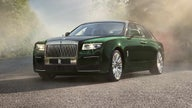 The Rolls-Royce Ghost Extended is a very long luxury car