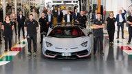 Lamborghini just sold its 10,000th Aventador supercar worth over $400G