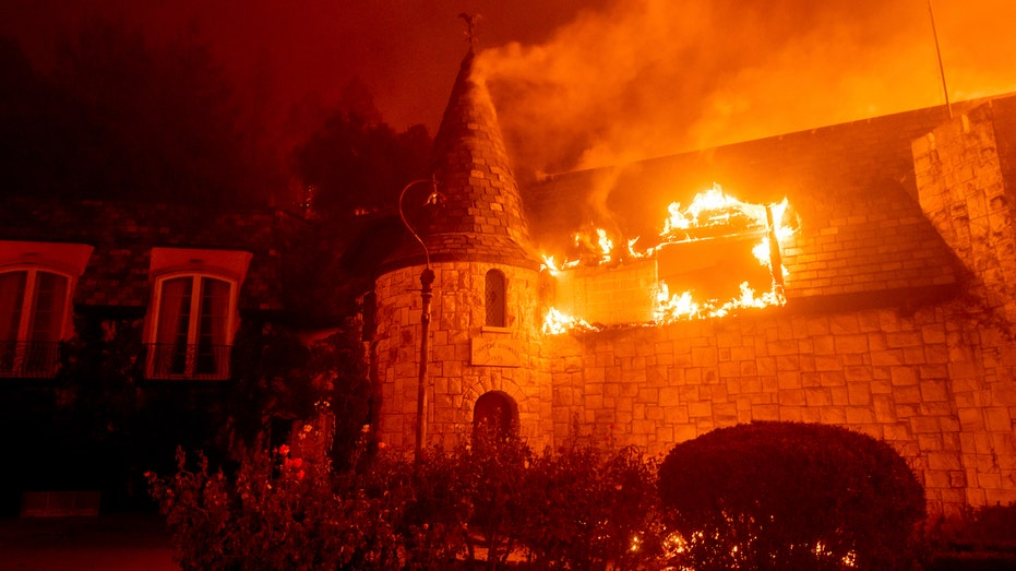 Napa Valley Wineries Open On Christmas Day 2020 Napa Valley wineries face fury of latest California wildfire as
