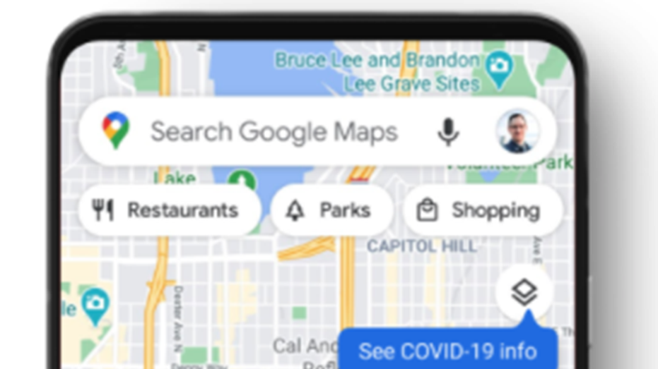You can now check for Covid-19 hotspots in Google Maps