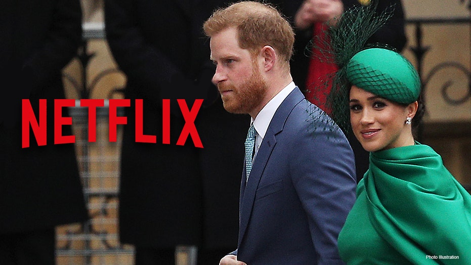 meghan markle prince harry s netflix deal doesn t please uk citizens survey says fox business meghan markle prince harry s netflix