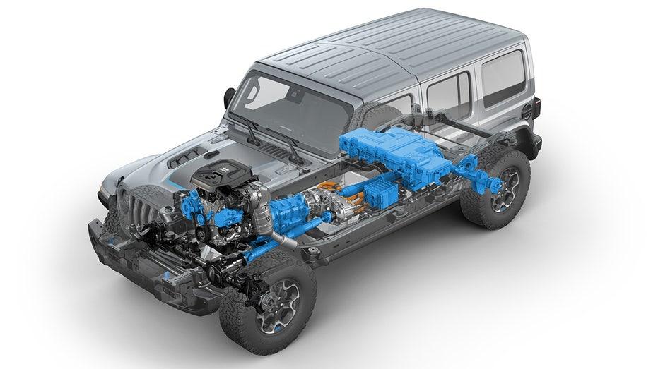 Jeep reveals the 2021 Wrangler PHEV 4xe, but is it waterproof?