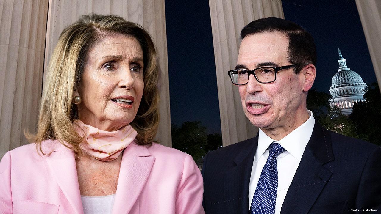 Mnuchin, Pelosi stimulus talks continue as Schumer fails to adjourn Senate