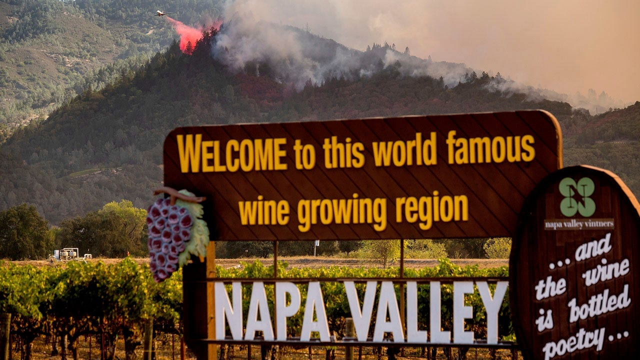 California Wildfire Damages At Least 17 Napa Valley Wineries As State Sees Over 4 Million Acres Burned Fox Business