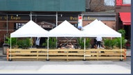How COVID-safe is dining in a restaurant's outdoor tent?