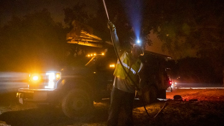 Wildfire safety blackouts in California by PG&E could leave homes without power till Friday