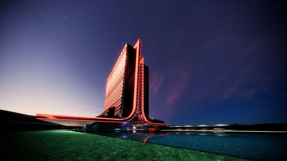Atari Hotels Exterior Front Entrance Image_Gensler 03