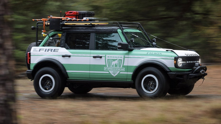 Ford Reveals Bronco Wildland Fire Rig Concept To Assist Firefighters