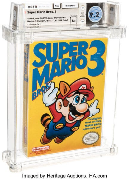 Most expensive video game ever: Rare copy of 'Super Mario 3' sold at auction