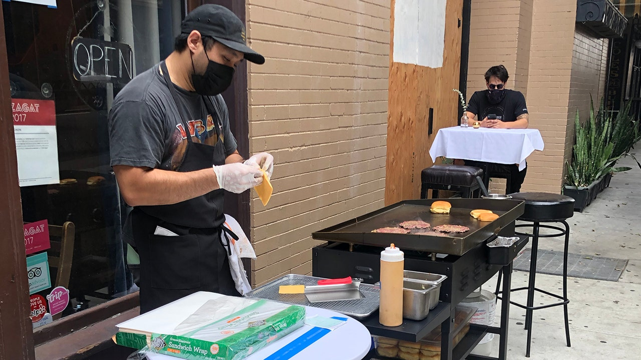 Restaurateur finds creative way to weather LA County dine-in ban