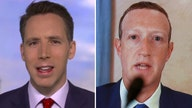 Hawley presses Zuckerberg on whistleblower complaint alleging Facebook coordination with Twitter, Google